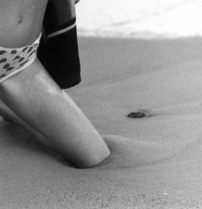 Frauke Eigen, 'Knie im Sand/ Knee in the sand , Ukraine', 2001