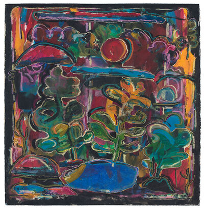 David Driskell, 'Landscape with Sunset', 2005