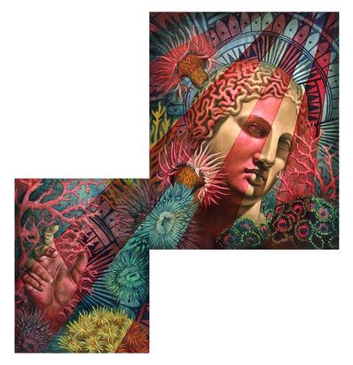 Beau Stanton, 'Coral Goddess (diptych)'