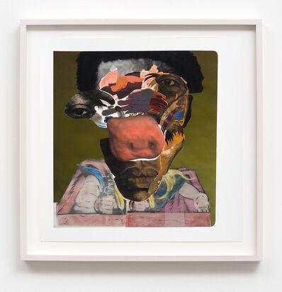 Nathaniel Mary Quinn, 'Antoine Jackson', 2016