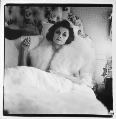 Diane Arbus, 'Brenda Diana Duff Frazier, 1938 Debutante of the Year, At Home', 1966