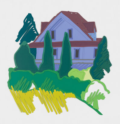 Tom Wesselmann, 'Tennanah Lake House', 1992