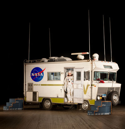 Tom Sachs, 'Mobile Quarantine Facility (MQF)', 2011-2012