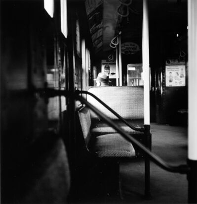 Arthur King, 'Myrtle Avenue El (Passenger), New York City', 1955