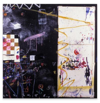 Raymond Saunders, 'We Try', 1985