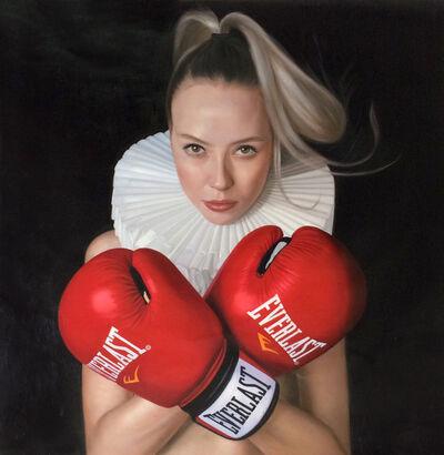 Frank E Hollywood, 'Little Boxer Girl', 2018