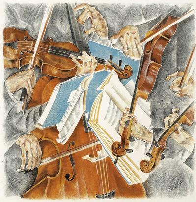 Max Oppenheimer, 'Rose Quartett', ca. 1920
