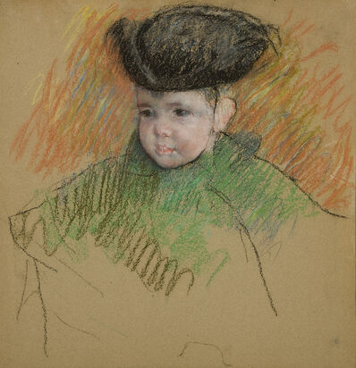 Mary Cassatt, 'Portrait of Master Hammond', ca. 1898