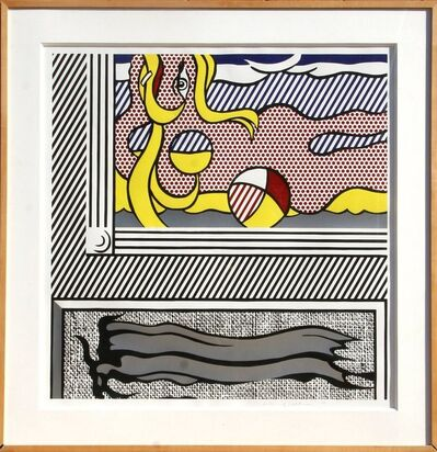 Roy Lichtenstein, 'Two Paintings: Beach Ball (C.204)', 1984