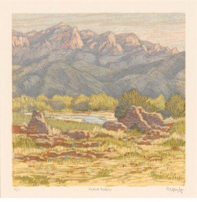 Leon Loughridge, 'Kuaua Pueblo'