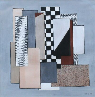 Charles Fayette Taylor, 'Untitled (Abstraction)', 1948