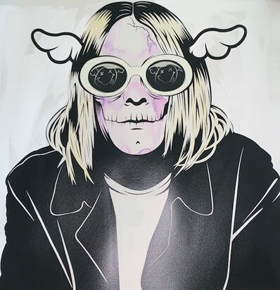 D*Face, 'D*Face Kurt Cobain', 2019