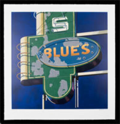 Robert Cottingham, 'Blues', 2009