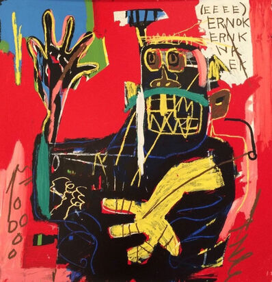 Jean-Michel Basquiat, 'ERNOK 1983 BY JEAN-MICHEL BASQUIAT', 2001