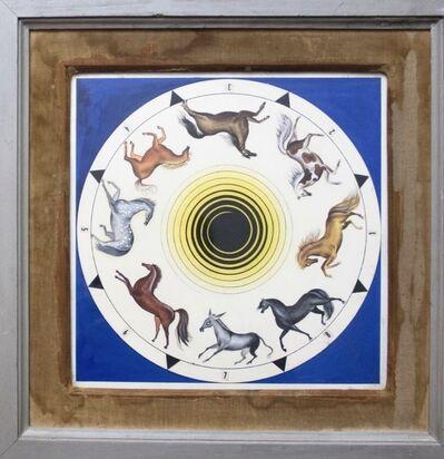 Leonora Carrington, 'Roulette horses', 1953