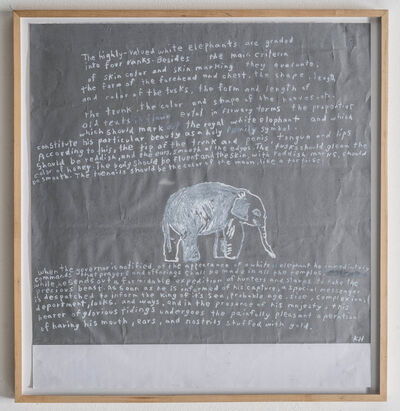 Kathleen Henderson, 'White Elephant/FGT', 2014