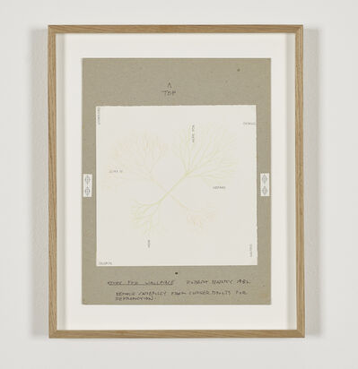 Robert Barry, 'Study for Wallpiece', 1982