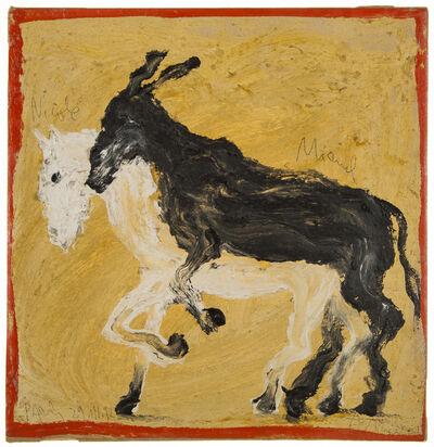 Miquel Barceló, 'Potro de Rabia y Miel', 1992