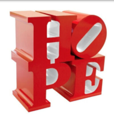 Robert Indiana, 'HOPE (Red/White)', 2009