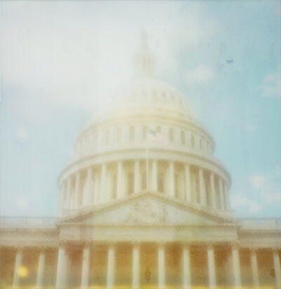 Carmen de Vos, 'Capitole #4 - Contemporary, Polaroid, Landscape, Color, Landmark, Icon, Blue', 2009