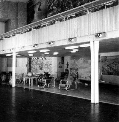 Unknown Artist, 'Artek furniture in the Finnish pavilion at the New York World's Fair', 1939