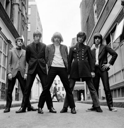 Gered Mankowitz, 'The Yardbirds. 'Bowler Hat', Ormond Yard, London', 1966