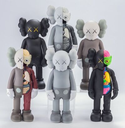KAWS, 'Companion, set of six', 2016