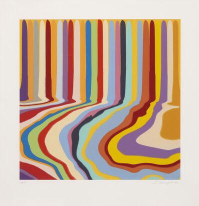 Ian Davenport, 'Citric Etching', 2011