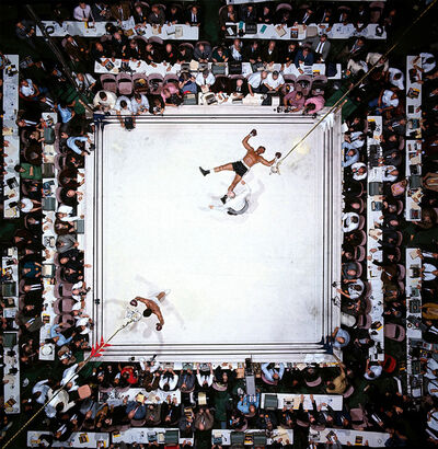 Neil Leifer, 'Muhammad Ali Knocks Out Cleveland', 1966
