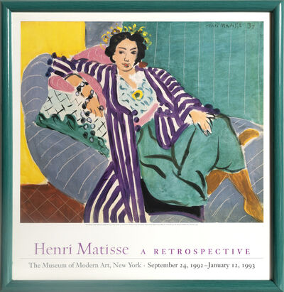 Henri Matisse, 'Small Odalisque with Purple Robe', 1993