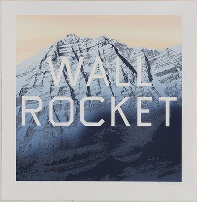 Ed Ruscha, 'Wall Rocket', 2013