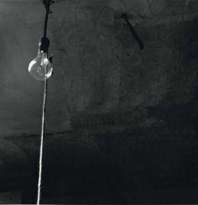 Robert Rauschenberg, 'Ceiling + Light Bulb', 1950