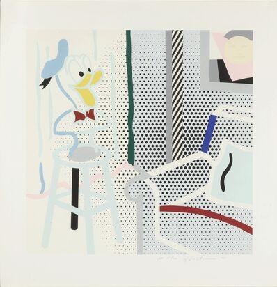 Roy Lichtenstein, 'Virtual Interior: Portrait of a Duck Corlett 294', 1995