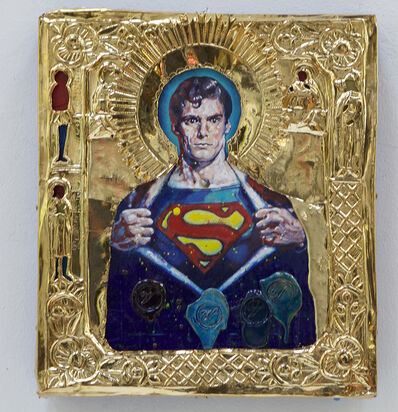 Valentin Popov, 'St. Superman', 2016