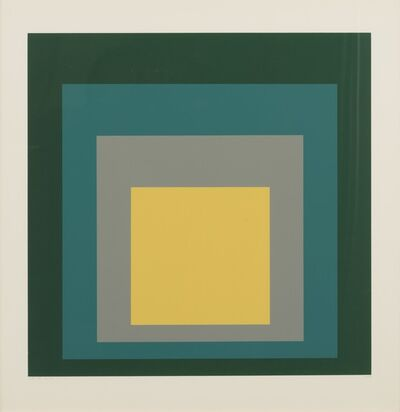 Josef Albers, 'Homage to the Square: SP - VI ', 1967