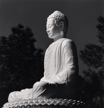 Michael Kenna, 'White Buddha, Phuac Hoa Pagoda, Hue, Vietnam', 2019