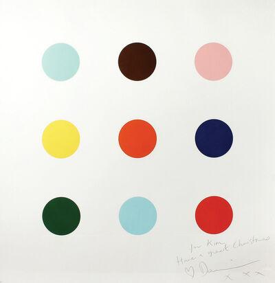 Damien Hirst, '9 Large Spots', 2004