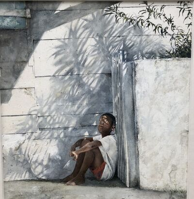Stephen Scott Young, 'Oleander Shadow', 1990