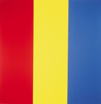 Brice Marden, 'Red Yellow Blue Painting No. 1', 1974