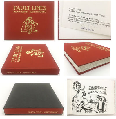 "Keith Haring, '""Fault Lines"" (in collaboration with Brion Gysin), 1986, Publication Edition of 200, Signed by Keith Haring, 52 Full-Page Illustrations B/W.', 1986"