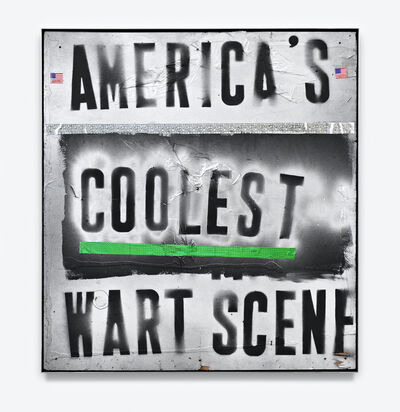 Mark Flood, 'MERICA'S COOLEST WART SCENE', 2008