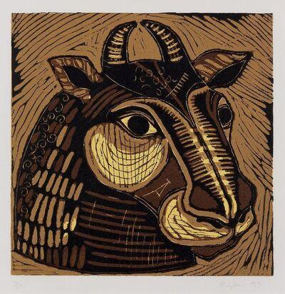 Sophie Ryder, 'Minotaur Head (Large)', 1995