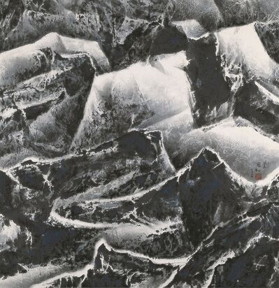 Liu Kuo-sung 刘国松, 'Winter in Shihua 石化的冬天', 2007