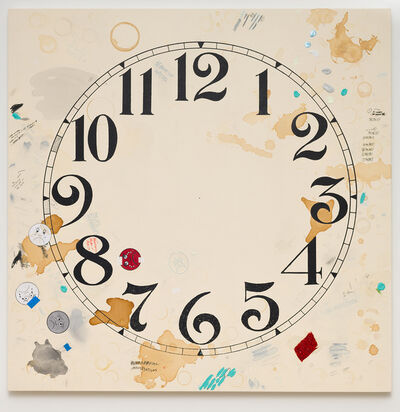 Amanda Ross-Ho, 'Untitled Timepiece (ORAL ARGUMENTS/OVERLAPPING JURISTICTIONS)', 2019-2020