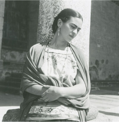 Fritz Henle, 'Frida Outside The Church', 1936