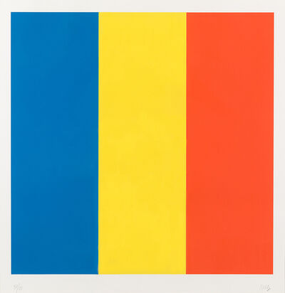 Ellsworth Kelly, 'Blue Yellow Red', New York 1991
