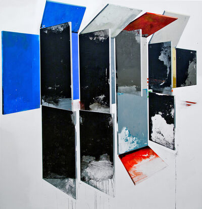 Manuel Caeiro, 'Hollow walls with black', 2015