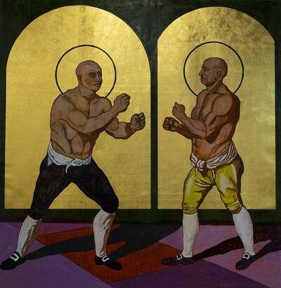 Godfried Donkor, 'St Jack Broughton vs St George Stevenson', 2019
