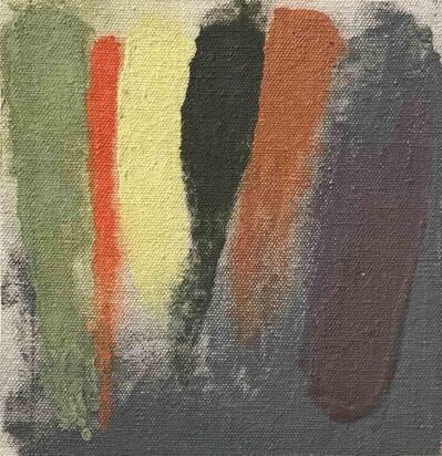 Friedel Dzubas (1915-1994), 'Orange Barrier - Sketch', 1973
