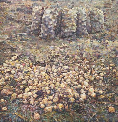 Hung Liu, 'Onion Field', 2019